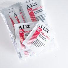 Desinfektiopyyhe A 12t Dilutus , 25 kpl pakkaus